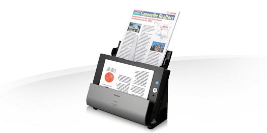 компактный настольный сканер